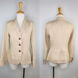 Brooks Brothers 346 MILANO FIT 100% LINEN Blazer 2